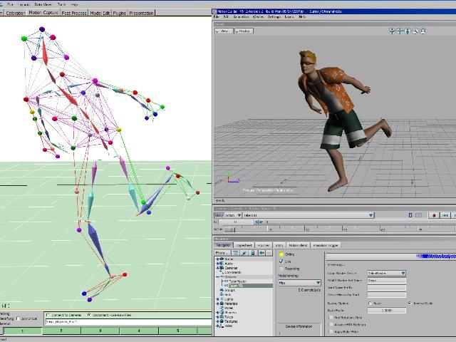 MAC3D SystemによるCGリアルタイムアニメーション