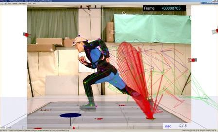 ビデオ映像を三次元データに重畳表示