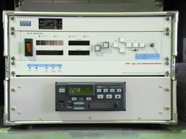 飛翔体3次元位置計測装置シネ・セオドライト「データインサータ」