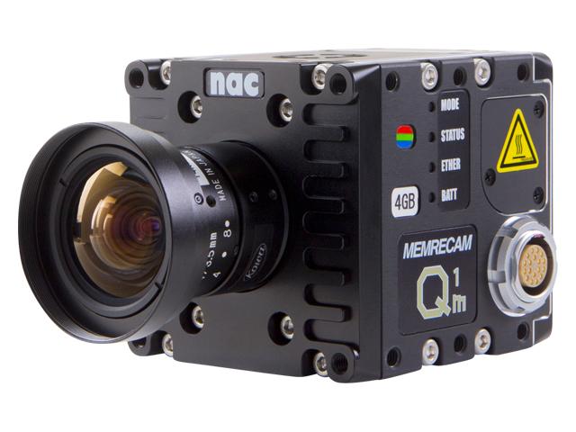 6cm角小型一体型ハイスピードカメラ(高速度カメラ)MEMRECAMQ1m/Q1v