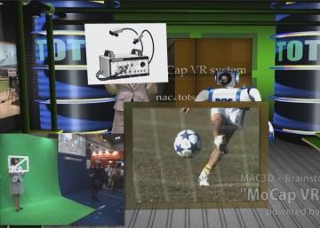MAC3D Systemの撮影スタジオでの活用例