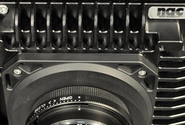 ハイスピードカメラMEMRECAM HX-1マウント部