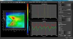 PIV解析ソフトウェアでの解析例
