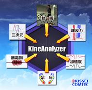 様々な装置のデータを統合し、 同期再生・解析が可能