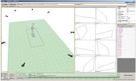 MAC3D Systemによる動作計測イメージ