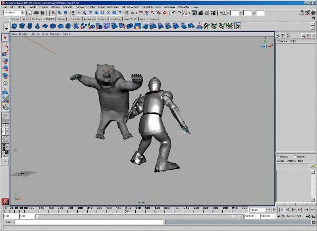 MAC3D SystemによるCGアニメーション制作