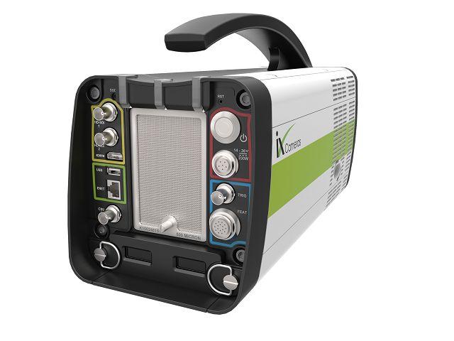 ハイスピードカメラ i-SPEED7シリーズ背面パネル