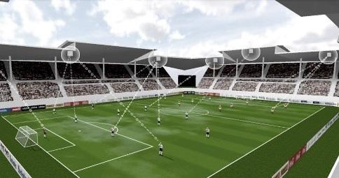 ZXY Arena スポーツトラッキングシステム