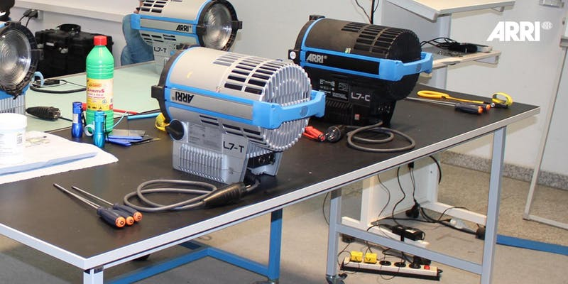 Advanced Service Training for LED, Ballast and HMI in Japan