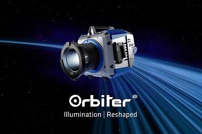 ARRI社が多様な光学系を備えた超高輝度LED点光源「Orbiter」を発表