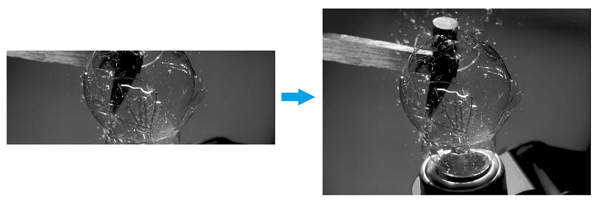 MEMRECAM ACS-3 ブーストモード イメージ画像