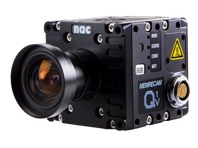 6cm角小型一体型ハイスピードカメラ(高速度カメラ)MEMRECAM Q1v