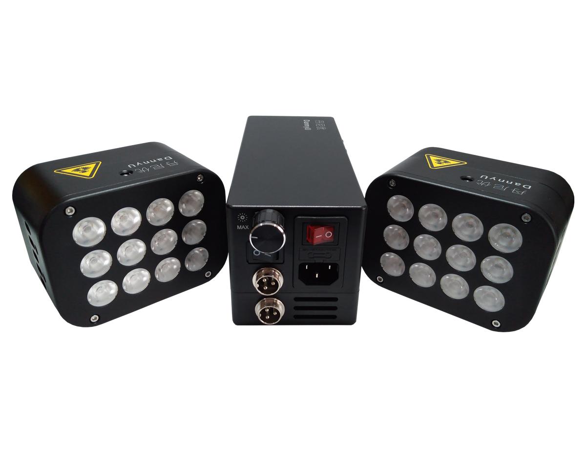 小型ハイパワーLED照明装置
